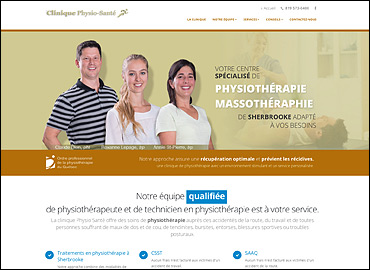 Physio-Santé physiotherapeute sherbrooke